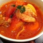 超簡単エスニック風鶏のトマト煮込み