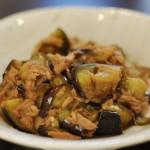 茄子とツナの和風炒め煮