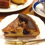 ブルーベリー入り濃厚ベイクドチーズケーキ