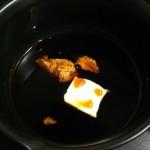 カジキのソテー粒マスタードソース