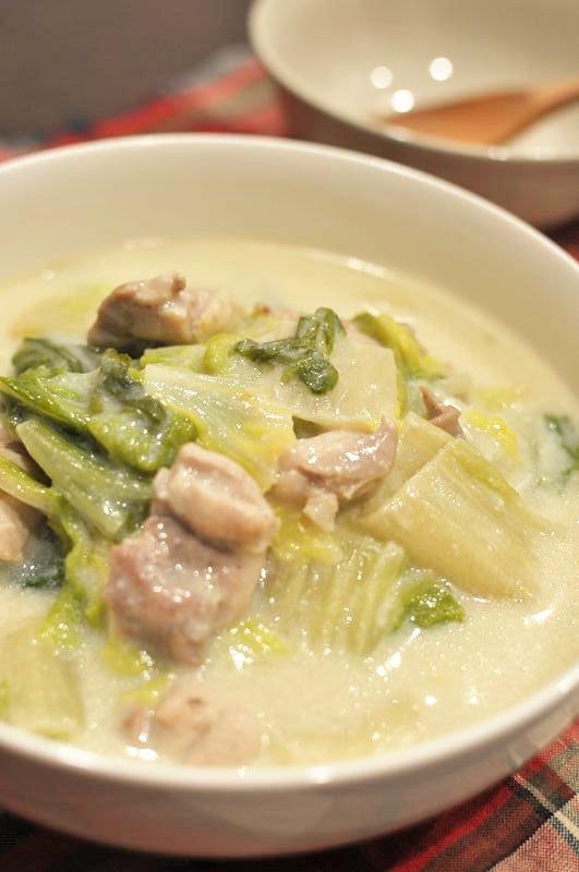 鶏肉と白菜のクリーム煮