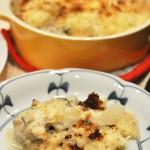 牡蠣のチーズパン粉焼き