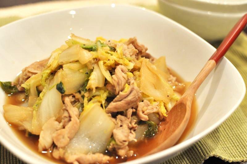 白菜と豚肉のくたくた煮