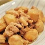 鶏肉と里芋のオイスターソース煮