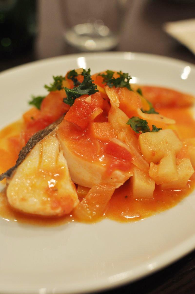 たらの野菜たっぷりトマト煮