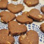 食べだすと止まらない~!簡単くるみ入りココアクッキー
