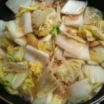 簡単!白菜とツナの蒸し煮