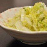ゆず風味な白菜の浅漬け