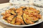 鶏肉となすのごま味噌炒め