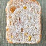 ホームベーカリーでハムコーンパン