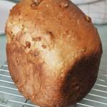ホームベーカリーでメープルくるみパン