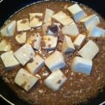 辛くない和風な麻婆豆腐