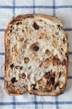 ホームベーカリーでチョコくるみパン