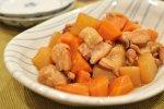圧力鍋で鶏肉と大根のこってり煮
