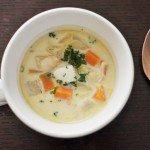 シーフードミックスで簡単シーフードホワイトスープ