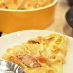 簡単キャベツとツナの和風チーズ焼き