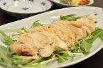 塩麹で蒸し鶏