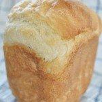 ホームベーカリーでほんのり甘いはちみつ入りご飯パン