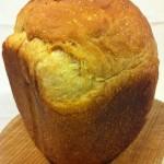 ホームベーカリーで贅沢バニラ香る食パン