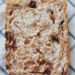 ホームベーカリーでくるみチョコチップのご飯パン