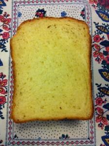 ホームベーカリーで贅沢バニラ食パン