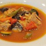 鶏肉と夏野菜のスープカレー