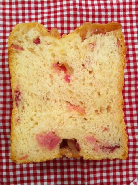 ベーコンフランスパン